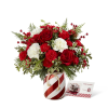 The FTD® Holiday Wishes™ Bouquet by Better Homes & Gardens® deluxe