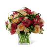 The FTD® All Aglow™ Bouquet premium