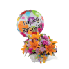 The FTD® Happy Blooms™ Basket premium