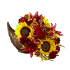 FTD® Fall Harvest™ Cornucopia by Better Homes and Gardens® 2016 premium