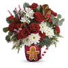 Send A Hug Gingerbread Greetings Bouquet premium