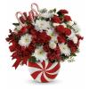 Teleflora's Peppermint Swirl Bouquet premium