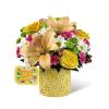 The FTD® Brighter Than Bright™ Bouquet by Hallmark 2017 deluxe