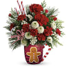 Send A Hug Winter Sips Bouquet by Teleflora standard