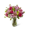 The FTD® Pink Posh™ Bouquet premium