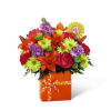 The FTD® Set to Celebrate™ Birthday Bouquet deluxe