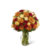 The FTD® Golden Autumn™ Bouquet deluxe