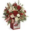 Teleflora's Quaint Christmas Bouquet deluxe