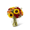 The FTD® Fall Frenzy™ Bouquet standard