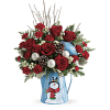 Teleflora's Snowy Daydreams Bouquet deluxe