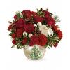 Teleflora's Classic Pearl Ornament Bouquet premium