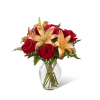 The FTD® Fall Fire™ Bouquet standard