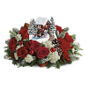 Thomas Kinkade's Snowfall Dreams Bouquet premium