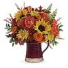 Teleflora's Bounty Of Blooms Bouquet deluxe