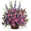 Gracious Lavender Basket deluxe