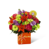 The FTD® Set to Celebrate™ Birthday Bouquet premium