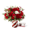 The FTD® Holiday Wishes™ Bouquet by Better Homes & Gardens® premium