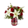 The FTD® Festive Holiday™ Bouquet by Vera Wang premium