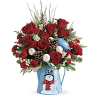 Teleflora's Snowy Daydreams Bouquet premium