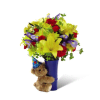 The FTD® Big Hug® Birthday Bouquet deluxe