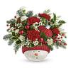 Teleflora's Snowman Ornament Bouquet 2020 standard