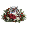 Thomas Kinkade's Snowfall Dreams Bouquet standard