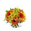 The FTD® Vibrant Views™ Bouquet in a Bubble Bowl premium
