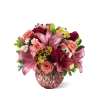 The FTD® Pink Poise™ Bouquet premium