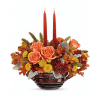 Teleflora's Celebrate Fall Centerpiece deluxe