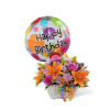 The FTD® Happy Blooms™ Basket deluxe