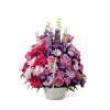 The FTD® Pastel Peace™ Basket premium
