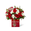 The FTD® Holiday Cheer™ Bouquet deluxe