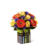 The FTD® Perfect Birthday Orange Bouquet deluxe