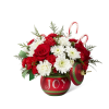 The FTD® Season's Greetings™ Bouquet deluxe