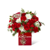 The FTD® Holiday Cheer™ Bouquet premium