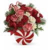 Teleflora's Peppermint Christmas Bouquet standard