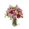 The FTD® Pink Posh™ Bouquet deluxe
