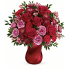 Teleflora's Mad Crush Bouquet premium