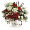 Send a Hug North Pole Cafe Mug by Teleflora 2020 deluxe