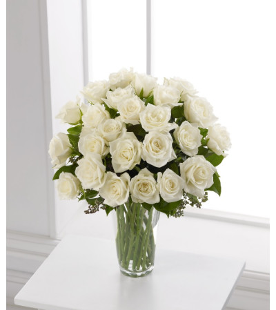 TFD white rose Bouquet