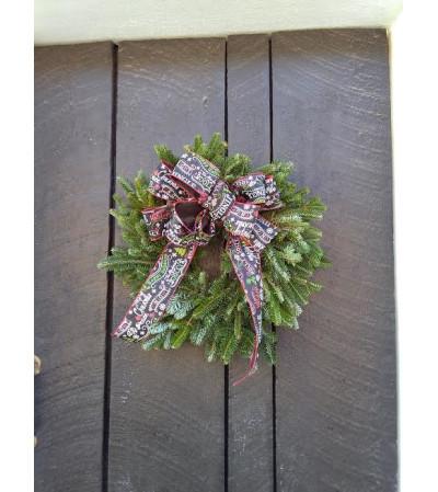 CHRISTMAS WREATH (FRESH)