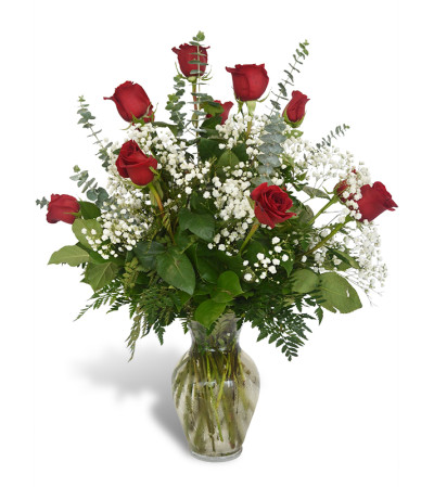 Premium Dozen Roses in Red