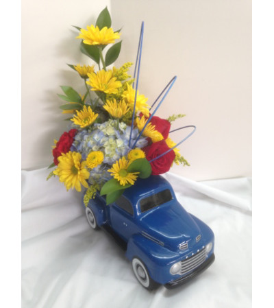 '48 Ford Pick Up Truck with Flowers