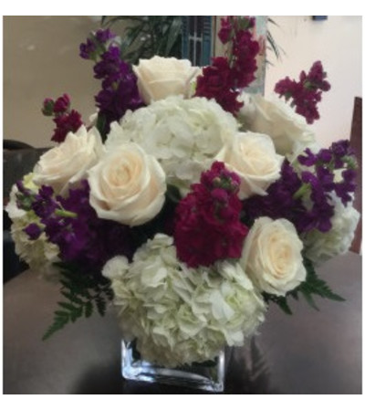 Tarrytown Floral Designs Burgundy Delight