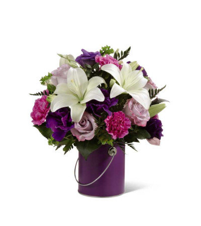 The Colour Your Day With Beauty™ Bouquet by FTD® - VASE INCLUDED