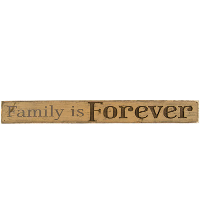Family is Forever Message Bar