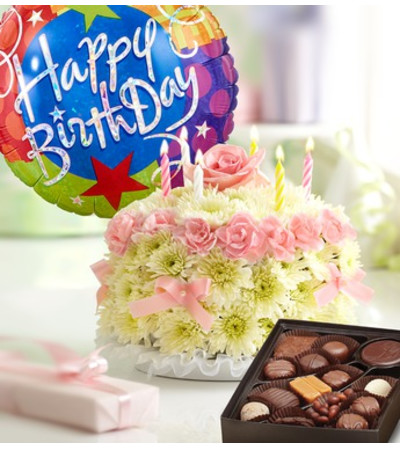 Birthday Flower Cake® Pastel