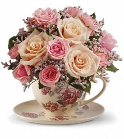 Rosy Teacup
