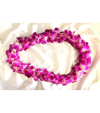 PURPLE LEI