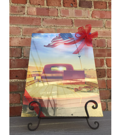 Lighted Canvas Picture